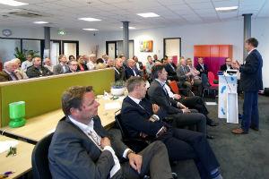 Foto bij symposium duurzaam ondernemen